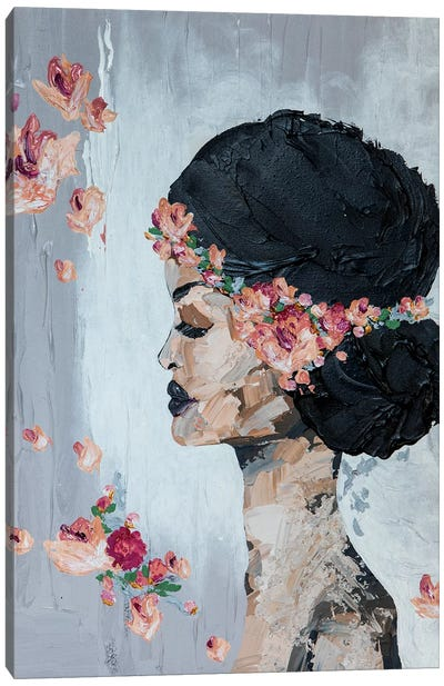 Lady Flora Canvas Art Print