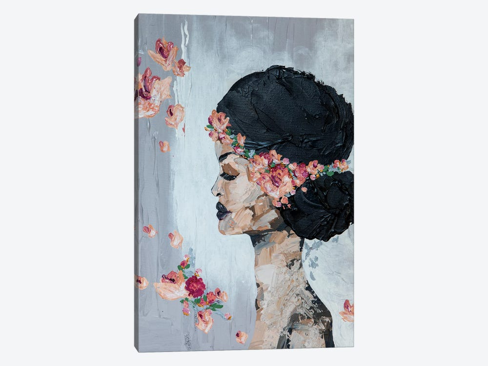 Lady Flora by Piia Pievilainen 1-piece Art Print
