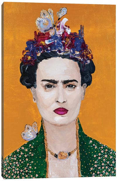 Lady Frida Canvas Art Print