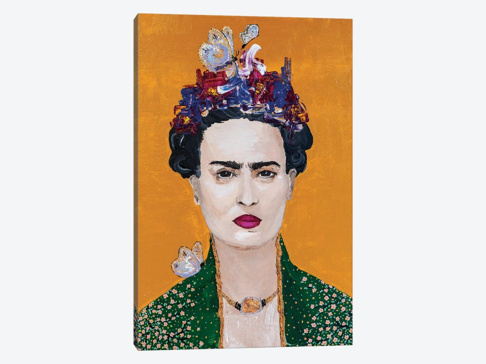 Lady Frida by Piia Pievilainen 1-piece Canvas Artwork