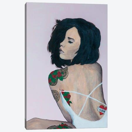 Lady Love Canvas Print #PII7} by Piia Pievilainen Canvas Print