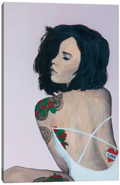 Lady Love Canvas Art Print