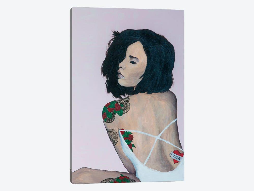 Lady Love by Piia Pievilainen 1-piece Canvas Art Print