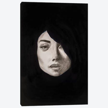 Lady Maverick Canvas Print #PII8} by Piia Pievilainen Canvas Wall Art