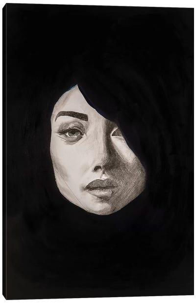 Lady Maverick Canvas Art Print