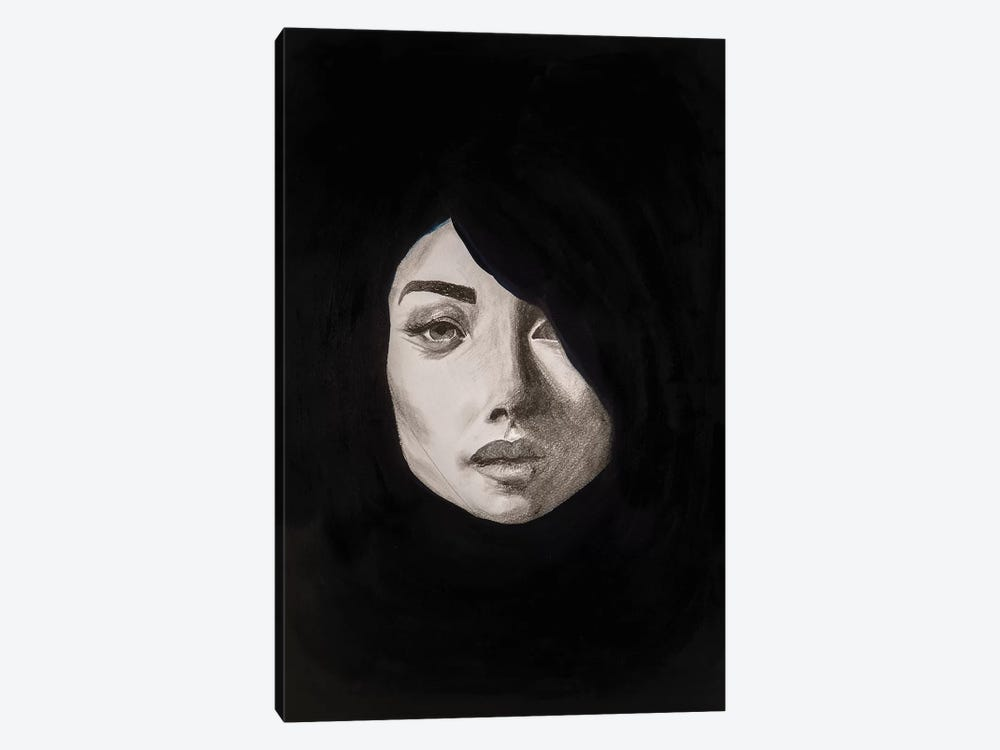 Lady Maverick by Piia Pievilainen 1-piece Canvas Wall Art