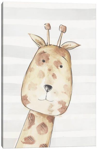Little Giraffe I Canvas Art Print