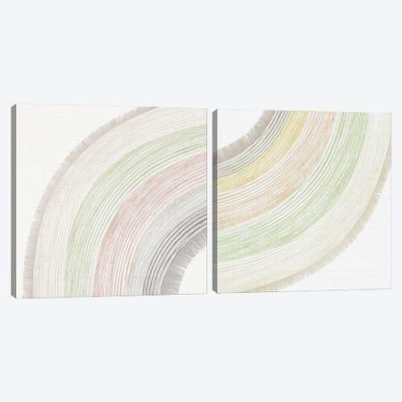Little Rainbow Diptych Canvas Print Set #PIJ2HSET001} by PI Juvenile Canvas Art