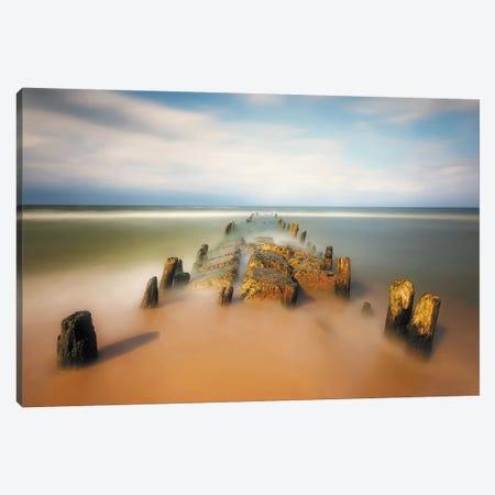 sea road Canvas Print #PIK4} by Piotr Krol Canvas Art Print