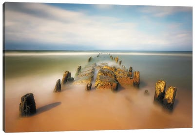 sea road Canvas Art Print