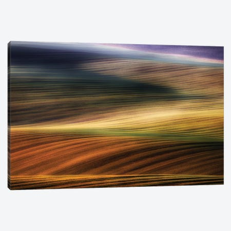 Autumn Fields Canvas Print #PIK5} by Piotr Krol Canvas Print