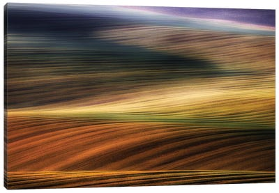 Autumn Fields Canvas Art Print