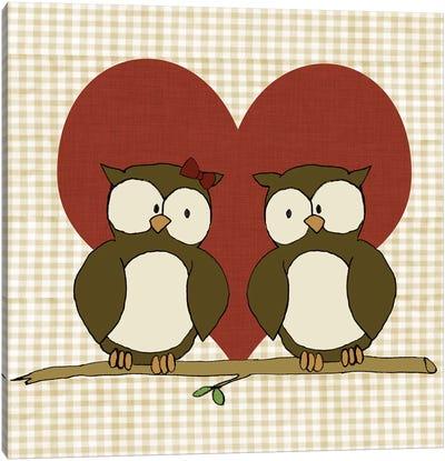 You & Me IV Canvas Art Print