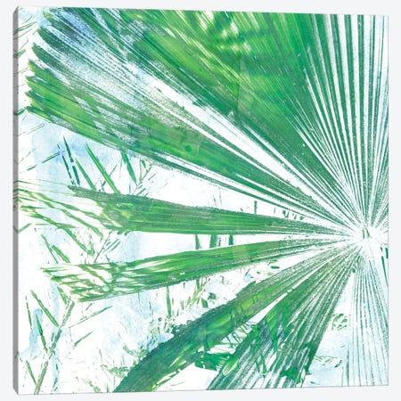 Emerald Palms I 3-Piece Canvas #PIL1} by Pam Ilosky Canvas Art Print