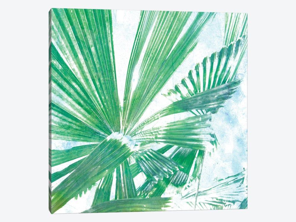 Emerald Palms II by Pam Ilosky 1-piece Canvas Print