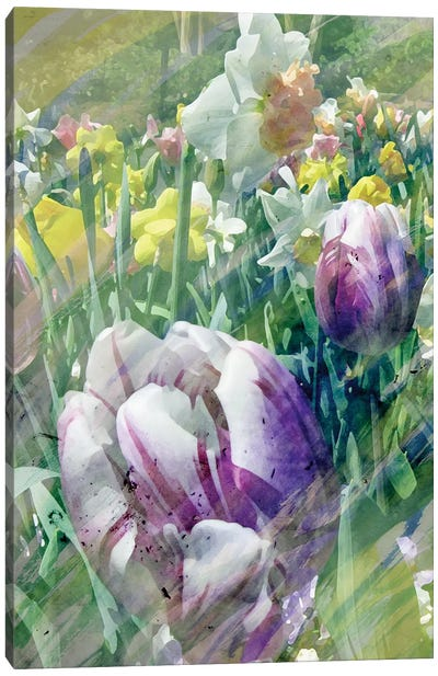 Spring At Giverny I Canvas Art Print