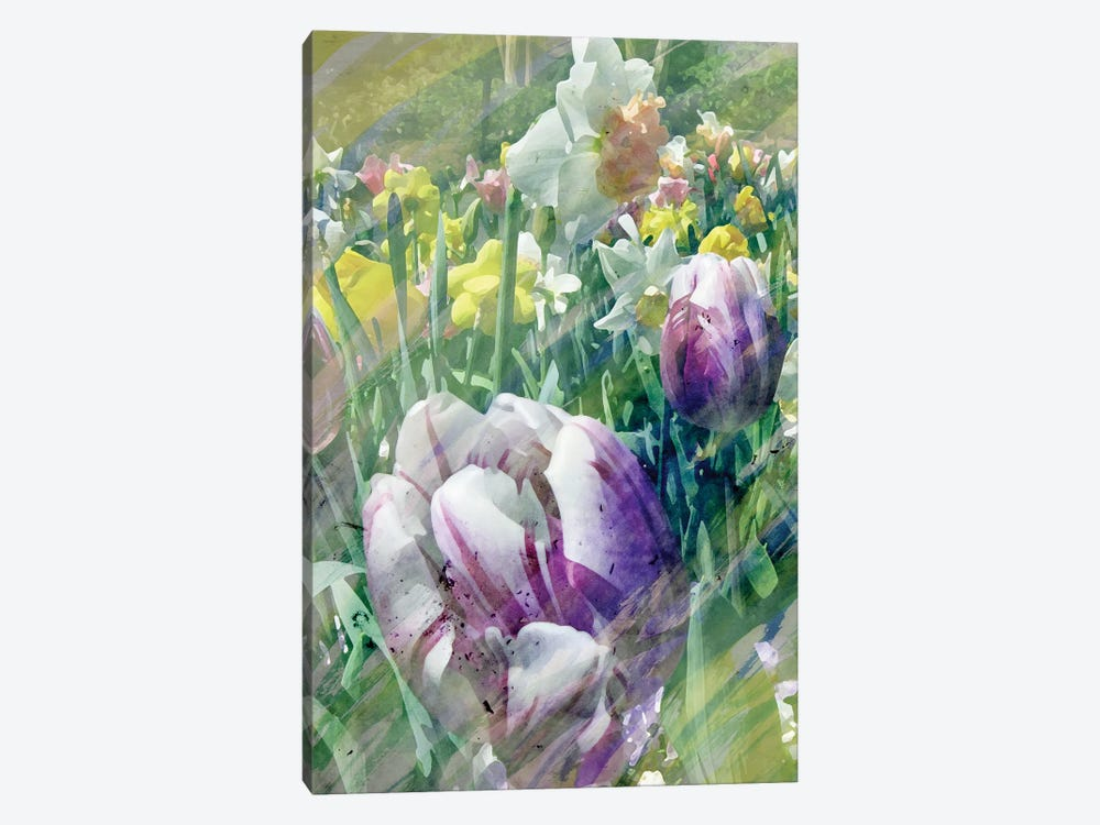 Spring At Giverny I by Pam Ilosky 1-piece Canvas Wall Art