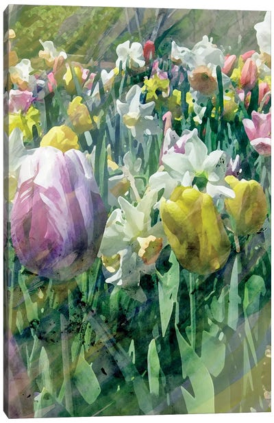 Spring At Giverny II Canvas Art Print