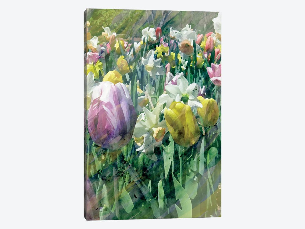 Spring At Giverny II by Pam Ilosky 1-piece Canvas Art Print