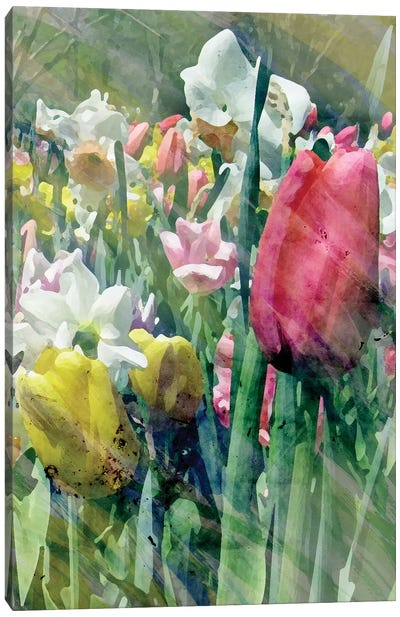 Spring At Giverny III Canvas Art Print