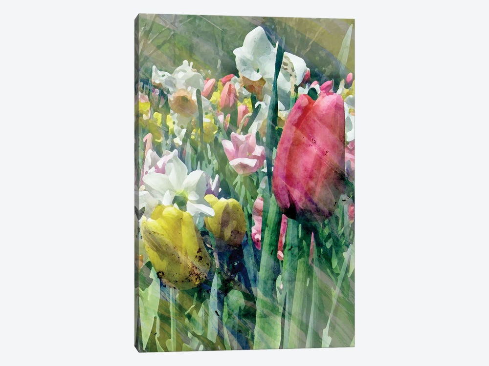 Spring At Giverny III by Pam Ilosky 1-piece Canvas Wall Art