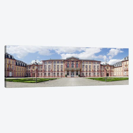 Facade of a castle, Castle Bruchsal, Bruchsal, Baden-Wurttemberg, Germany Canvas Print #PIM10026} by Panoramic Images Art Print