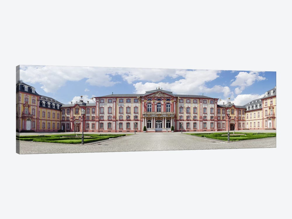 Facade of a castle, Castle Bruchsal, Bruchsal, Baden-Wurttemberg, Germany by Panoramic Images 1-piece Canvas Wall Art