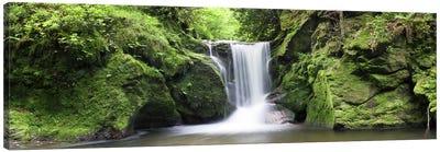 Geroldsau Waterfall, Black Forest, Baden-Wurttemberg, Germany Canvas Art Print