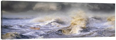 Small boat in storm Canvas Print #PIM10059