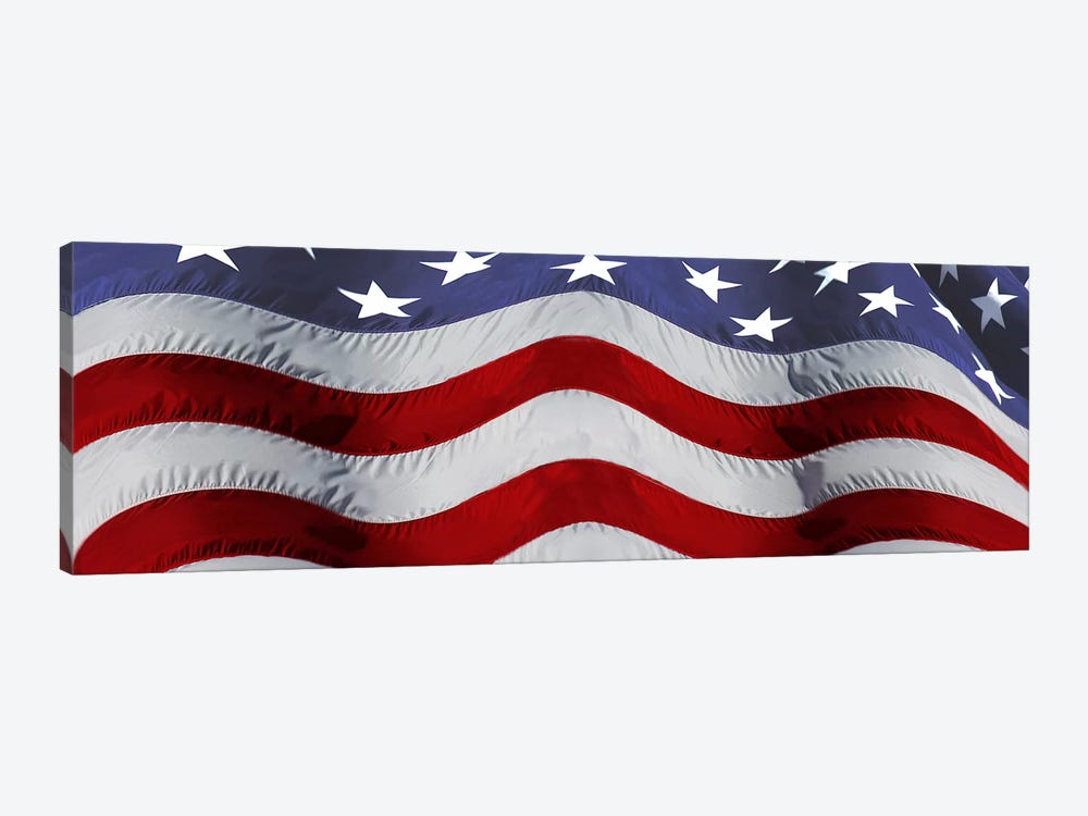 Close-up of an American flag by Panoramic Images 1-piece Canvas Art