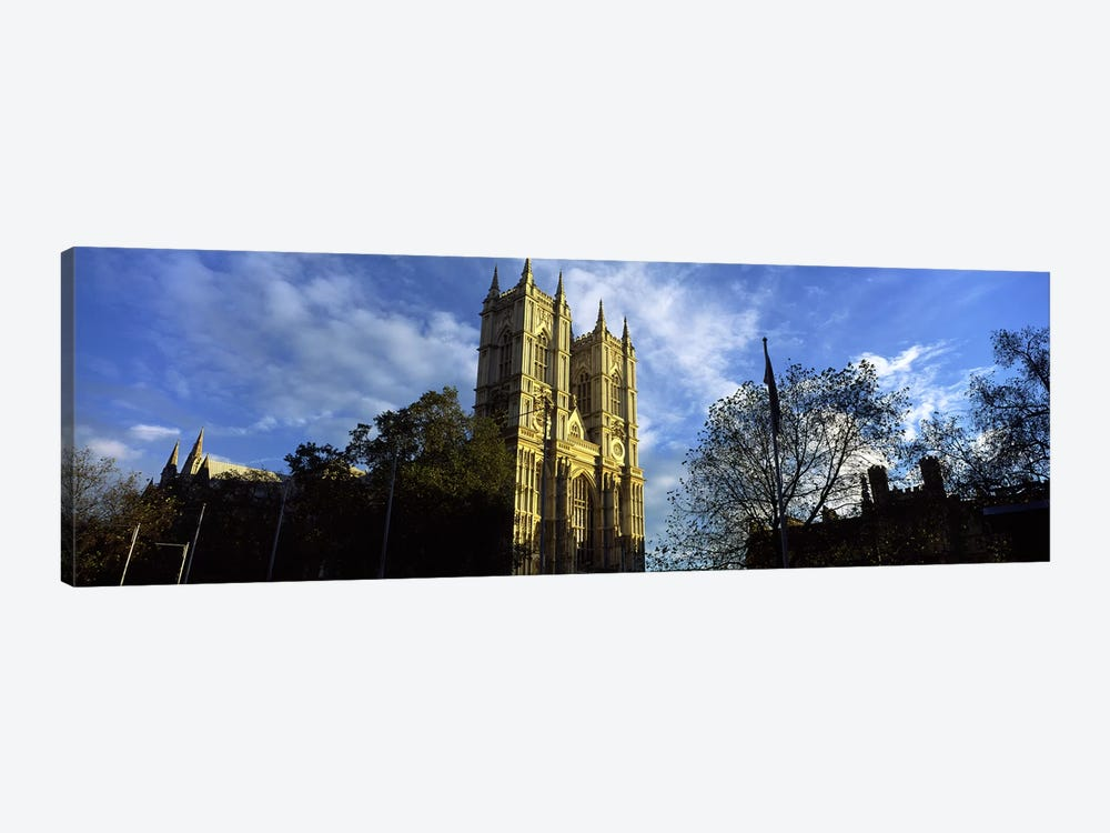 Low angle view of an abbey, Westminster Abbey, City of Westminster, London, England by Panoramic Images 1-piece Canvas Art