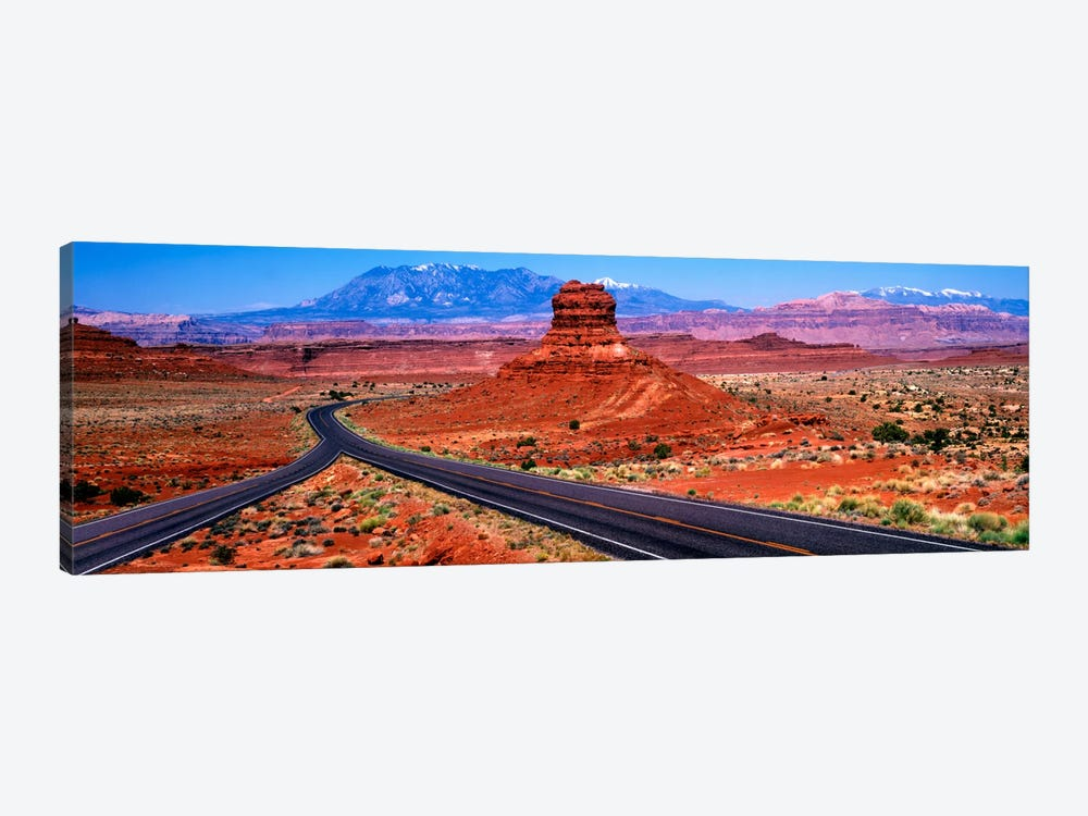 Fork In The Road, Red Rock Country, Utah, USA by Panoramic Images 1-piece Canvas Art Print