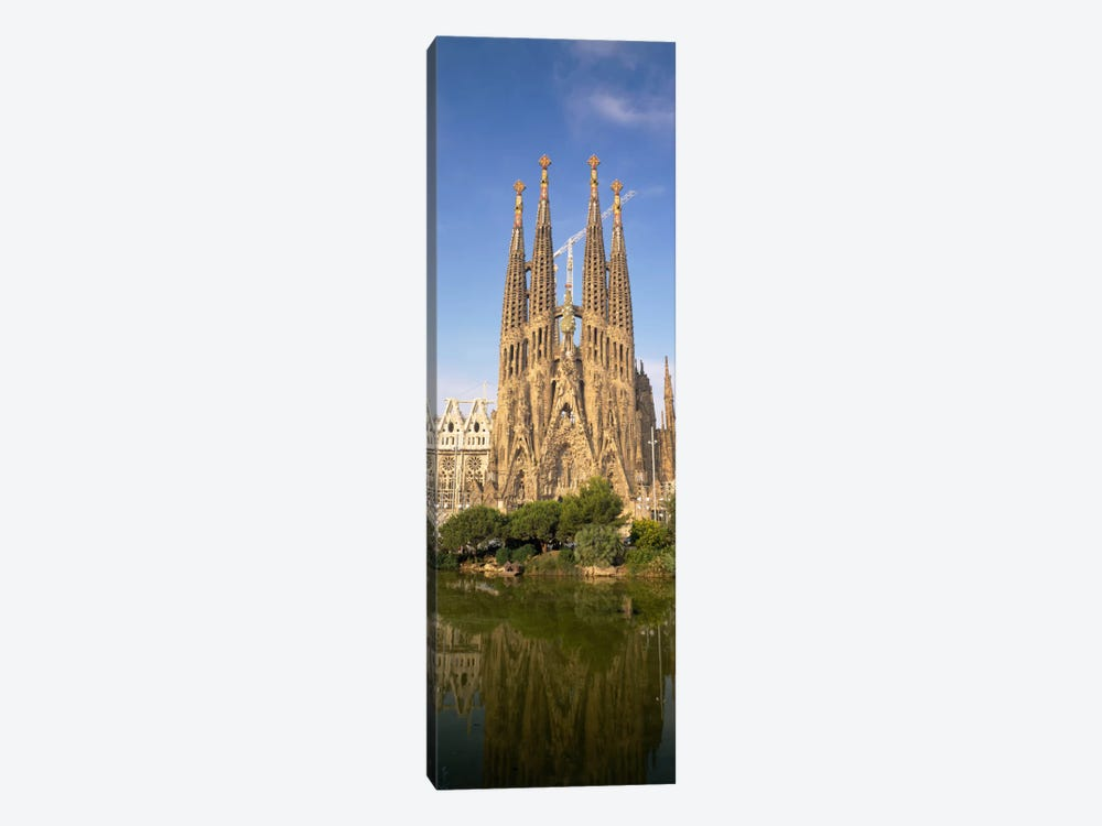 Low Angle View Of A Cathedral, Sagrada Familia, Barcelona, Spain by Panoramic Images 1-piece Canvas Art