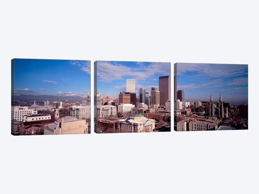 Denver, Colorado, USA by Panoramic Images 3-piece Art Print