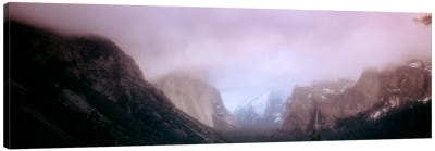 Yosemite Valley CA USA Canvas Art Print