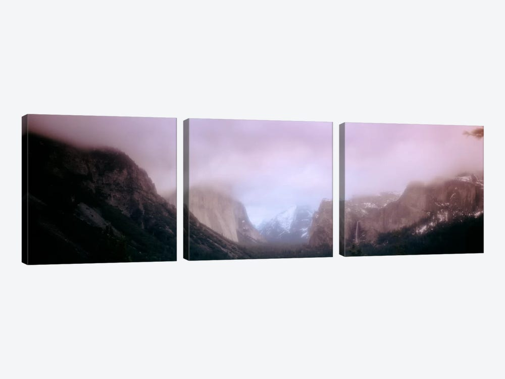Yosemite Valley CA USA by Panoramic Images 3-piece Canvas Wall Art