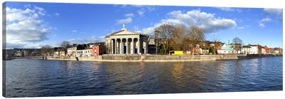 St Mary's Church beside the River LeeCork City, Ireland Canvas Print #PIM10141
