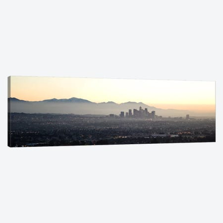 Aerial view of a cityscape, Los Angeles, California, USA Canvas Print #PIM10149} by Panoramic Images Canvas Art Print