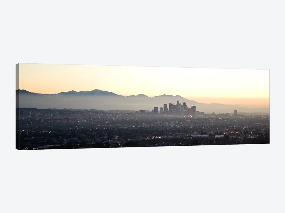 Aerial view of a cityscape, Los Angeles, California, USA by Panoramic Images 1-piece Canvas Wall Art