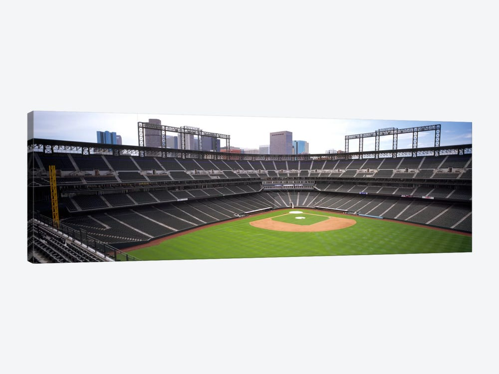 Coors Field Denver CO by Panoramic Images 1-piece Art Print