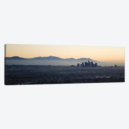 Buildings in a cityLos Angeles, California, USA Canvas Print #PIM10150} by Panoramic Images Canvas Art
