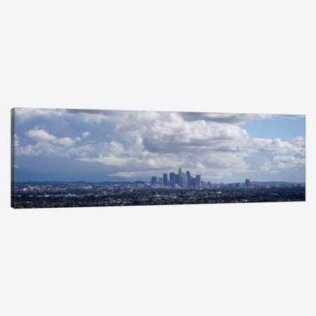 Buildings in a city, Los Angeles, California, USA Canvas Print #PIM10168} by Panoramic Images Canvas Print