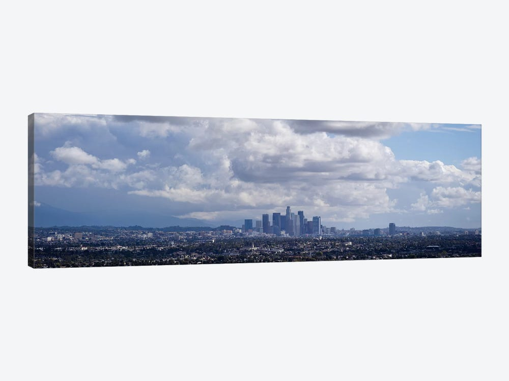 Buildings in a city, Los Angeles, California, USA by Panoramic Images 1-piece Canvas Art Print