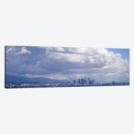 Buildings in a city, Los Angeles, California, USA #2 Canvas Print #PIM10169} by Panoramic Images Art Print