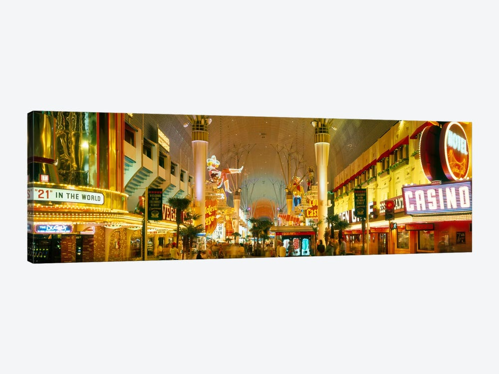 USA, Nevada, Las Vegas, night 1-piece Canvas Art