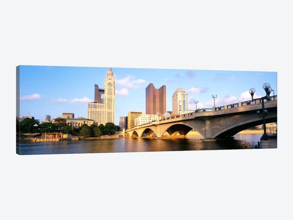 Scioto River, Columbus, Ohio, USA by Panoramic Images 1-piece Art Print