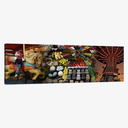 State fair Canvas Print #PIM10195} by Panoramic Images Canvas Print