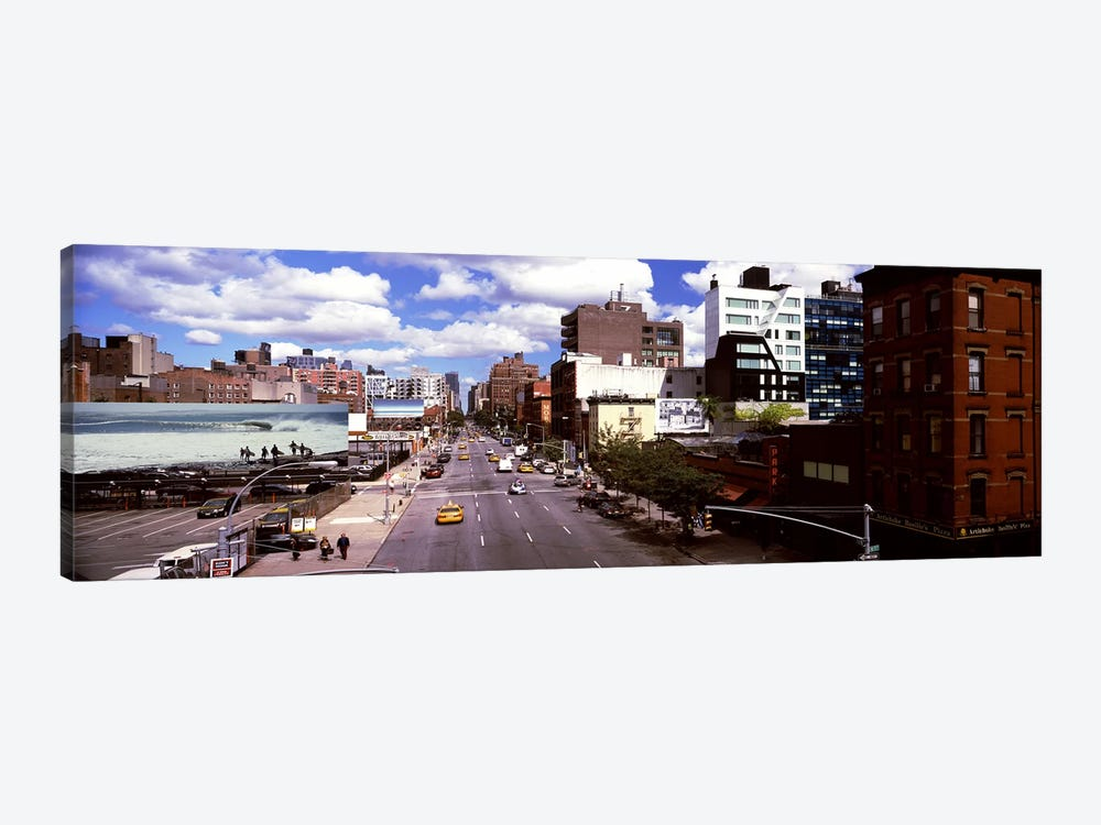 High angle view of buildings along 10th Avenue, New York City, New York State, USA by Panoramic Images 1-piece Canvas Art