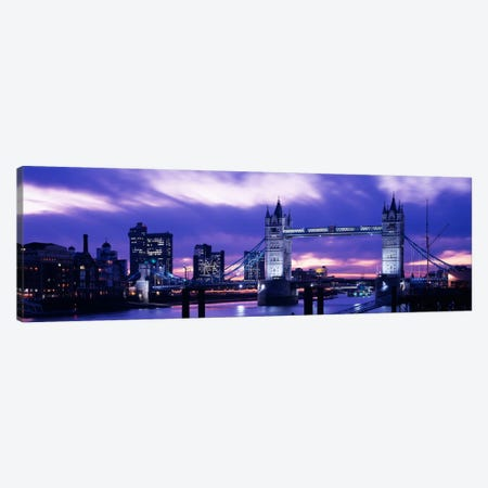 Tower Bridge, London, England, United Kingdom Canvas Print #PIM1022} by Panoramic Images Canvas Print