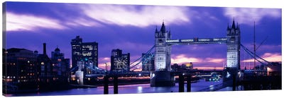 Tower Bridge, London, England, United Kingdom Canvas Print #PIM1022